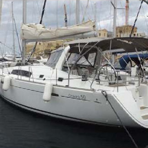 Rent / charter Sailing Yacht for Boat Parties, Conference & Incentive / Meetings / Corporate, Full Day Tour, Half Day Tour, Harbour Cruise, Private Charter & Team Building Activities in Malta & Gozo - Beneteau Oceanis 50 Family
