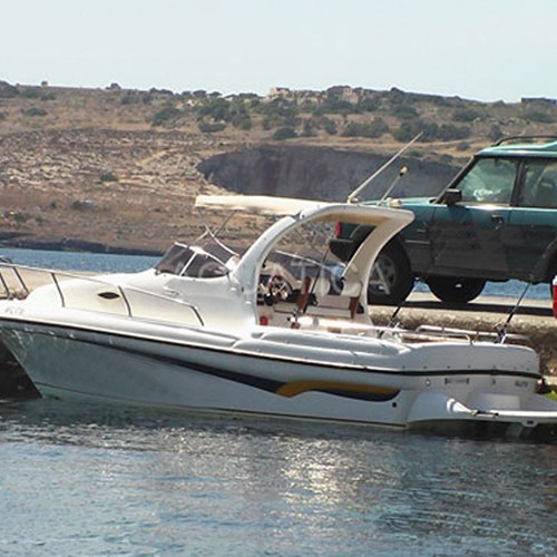 Rent / charter Motor Boat for Fishing Trips, Full Day Tour, Half Day Tour, Harbour Cruise & Private Charter in Malta & Gozo - 26ft Fishing Boat