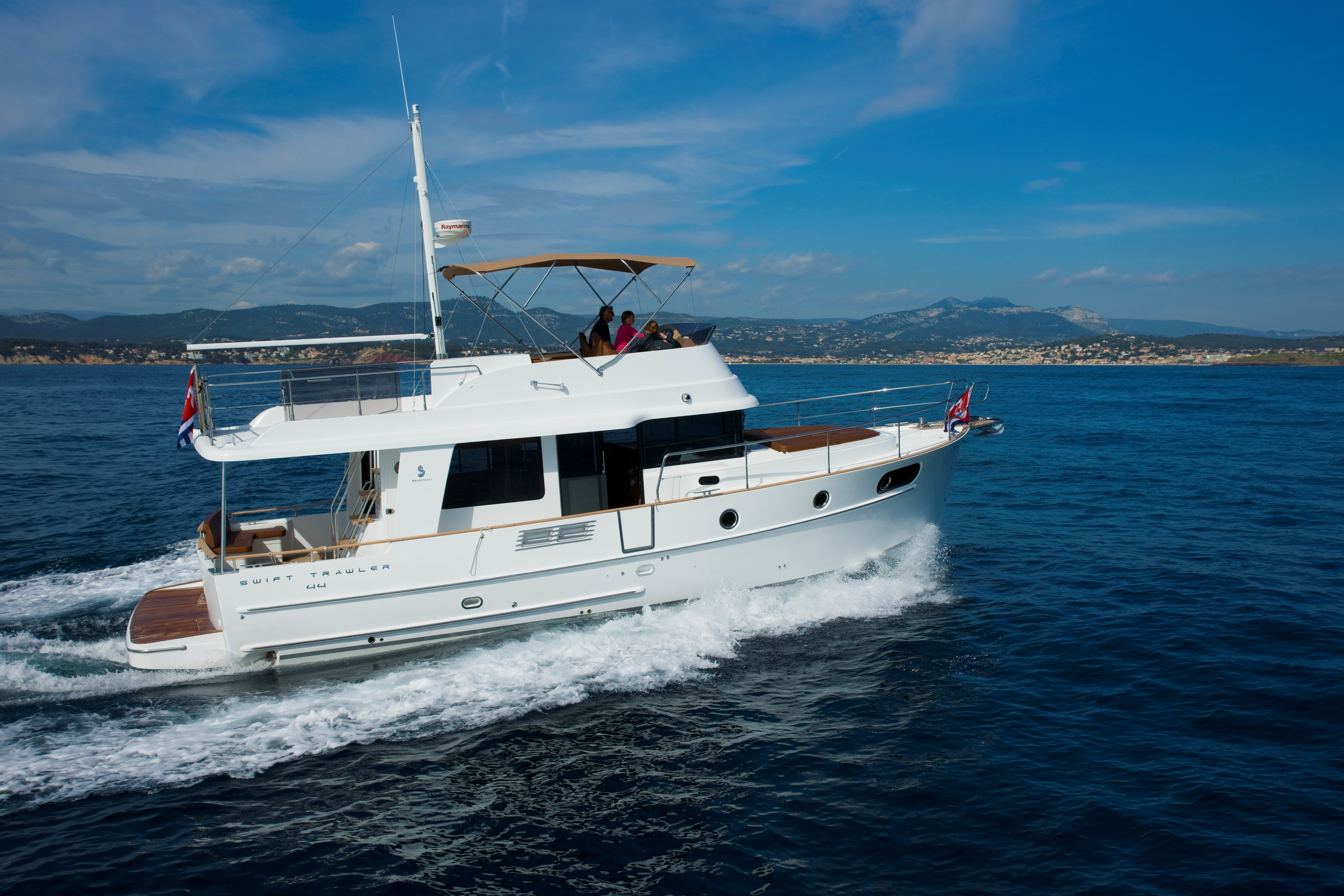 Rent / charter Luxury Yacht & Motor Boat for Boat Parties, Conference & Incentive / Meetings / Corporate, Full Day Tour, Half Day Tour, Harbour Cruise, Private Charter & Team Building Activities in Malta & Gozo - Beneteau Swift Trawler 44