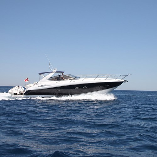 Rent / charter Luxury Yacht & Motor Boat for Boat Parties, Conference & Incentive / Meetings / Corporate, Full Day Tour, Half Day Tour, Harbour Cruise, Private Charter & Team Building Activities in Malta & Gozo - Sunseeker Portofino 46