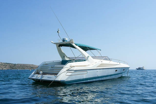 Rent / charter Luxury Yacht & Motor Boat for Boat Diving, Boat Parties, Conference & Incentive / Meetings / Corporate, Fishing Trips, Full Day Tour, Half Day Tour, Harbour Cruise & Private Charter in Malta & Gozo - Sunseeker Apache 45