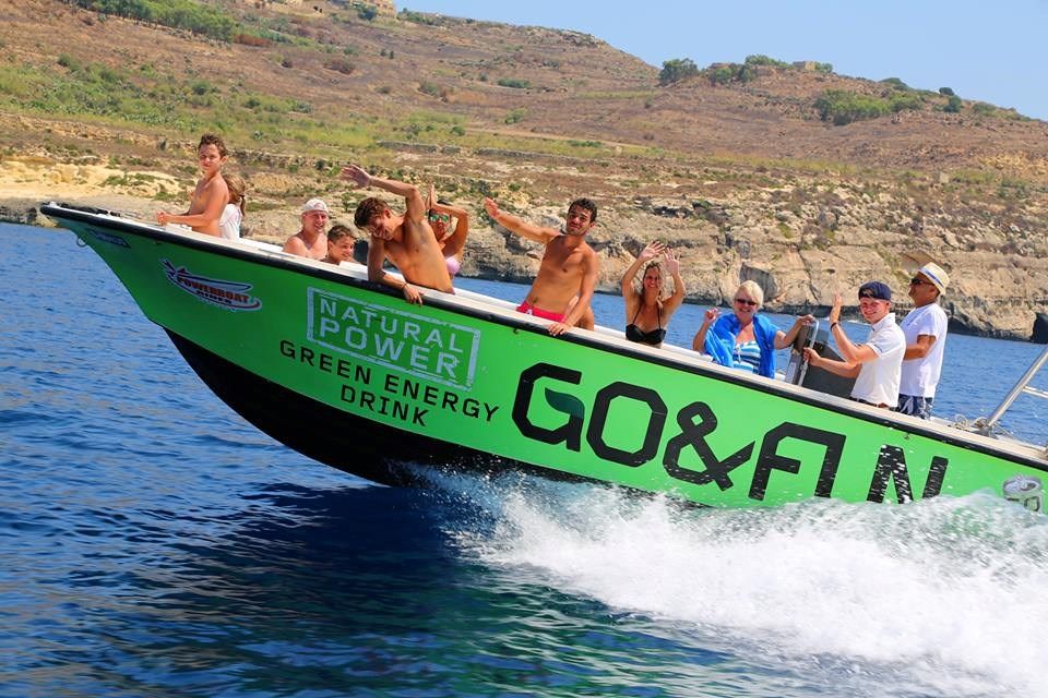 Rent / charter Motor Boat for Full Day Tour, Half Day Tour & Private Charter in Malta & Gozo - Coronett 26