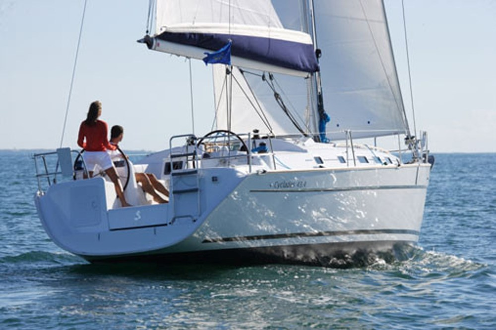 Rent / charter Sailing Yacht for Boat Parties, Conference & Incentive / Meetings / Corporate, Full Day Tour, Half Day Tour, Harbour Cruise, Private Charter & Team Building Activities in Malta & Gozo - Beneteau Cyclades 43.3