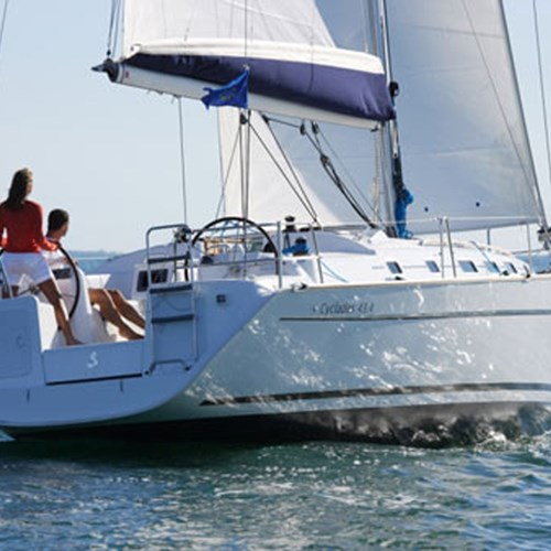 Rent / charter Sailing Yacht for Boat Parties, Conference & Incentive / Meetings / Corporate, Full Day Tour, Half Day Tour, Harbour Cruise, Private Charter & Team Building Activities in Malta & Gozo - Cyclades 43.3
