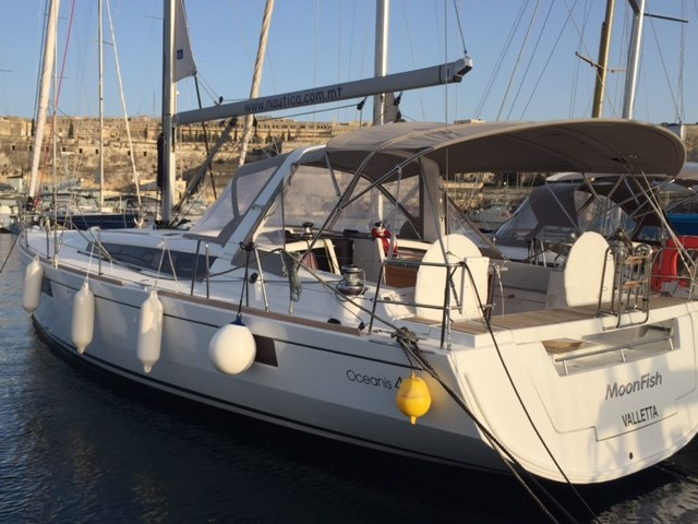 Rent / charter Sailing Yacht for Conference & Incentive / Meetings / Corporate, Full Day Tour, Private Charter & Team Building Activities in Malta & Gozo - Beneteau Oceanis 48