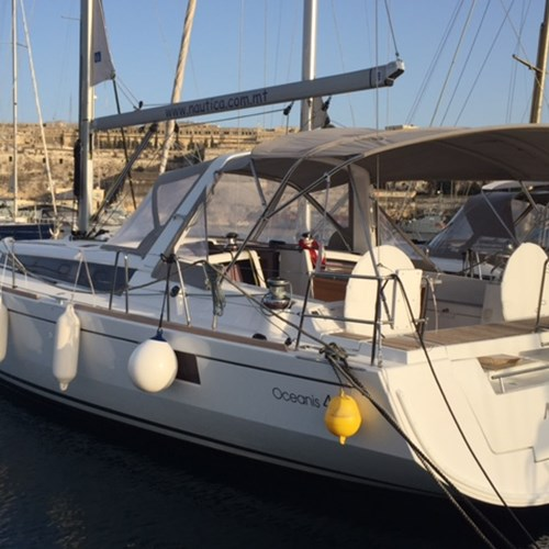 Rent / charter Sailing Yacht for Conference & Incentive / Meetings / Corporate, Full Day Tour, Private Charter & Team Building Activities in Malta & Gozo - Oceanis 48