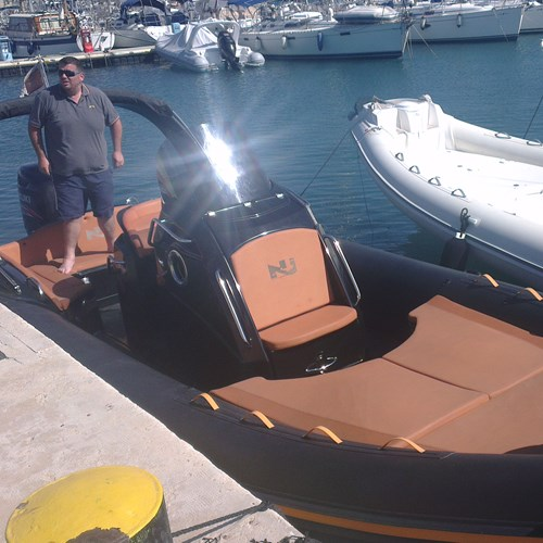 Rent / charter Rib / Dinghy for Boat Diving, Boat Parties, Full Day Tour, Half Day Tour, Harbour Cruise, Private Charter & Team Building Activities in Malta & Gozo - Novajolly Prince 25