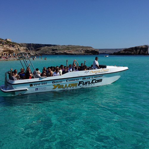 Rent / charter Motor Boat for Boat Diving, Conference & Incentive / Meetings / Corporate, Fishing Trips, Full Day Tour, Half Day Tour, Harbour Cruise, Private Charter & Team Building Activities in Malta & Gozo - Sunreacher Power boat