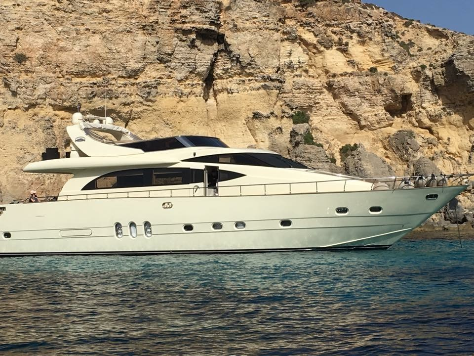 Rent / charter Luxury Yacht for Boat Parties, Conference & Incentive / Meetings / Corporate, Full Day Tour, Half Day Tour, Harbour Cruise, Private Charter & Team Building Activities in Malta & Gozo - Cantieri Leonard 74 ft