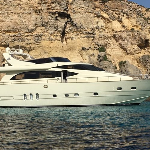 Rent / charter Luxury Yacht & Motor Boat for Boat Parties, Conference & Incentive / Meetings / Corporate, Full Day Tour, Half Day Tour, Harbour Cruise, Private Charter & Team Building Activities in Malta & Gozo - Cantieri Leonard 74 ft