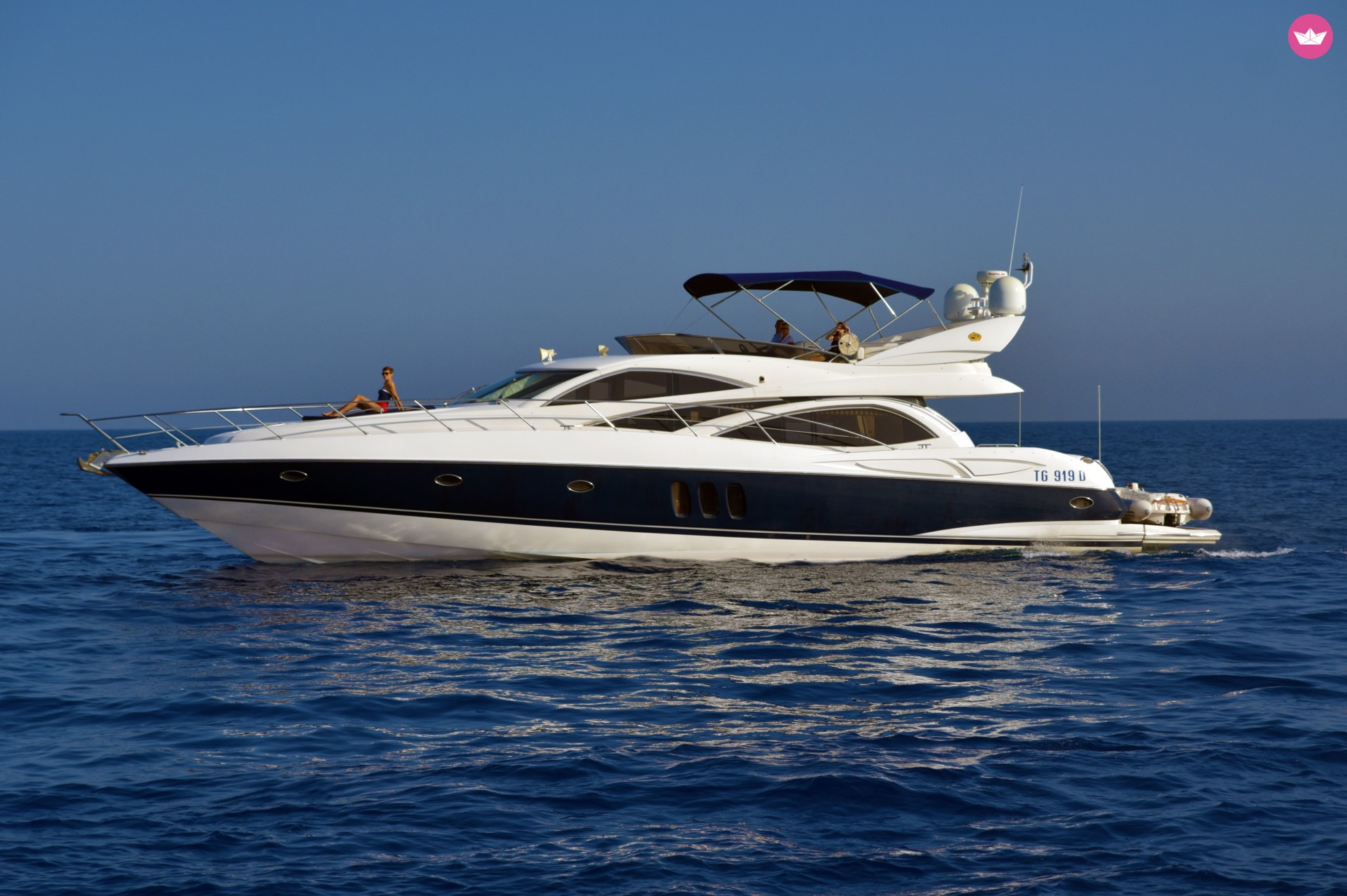 Rent / charter Luxury Yacht for Conference & Incentive / Meetings / Corporate, Full Day Tour, Private Charter & Team Building Activities in Malta & Gozo - Sunseeker Manhattan 64