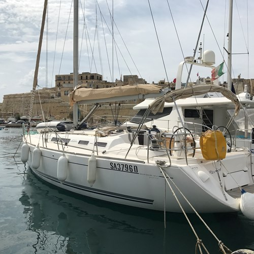 Rent / charter Sailing Yacht for Boat Diving, Boat Parties, Conference & Incentive / Meetings / Corporate, Fishing Trips, Full Day Tour, Half Day Tour, Harbour Cruise, Private Charter & Team Building Activities in Malta & Gozo - Dufour Grand Large 445