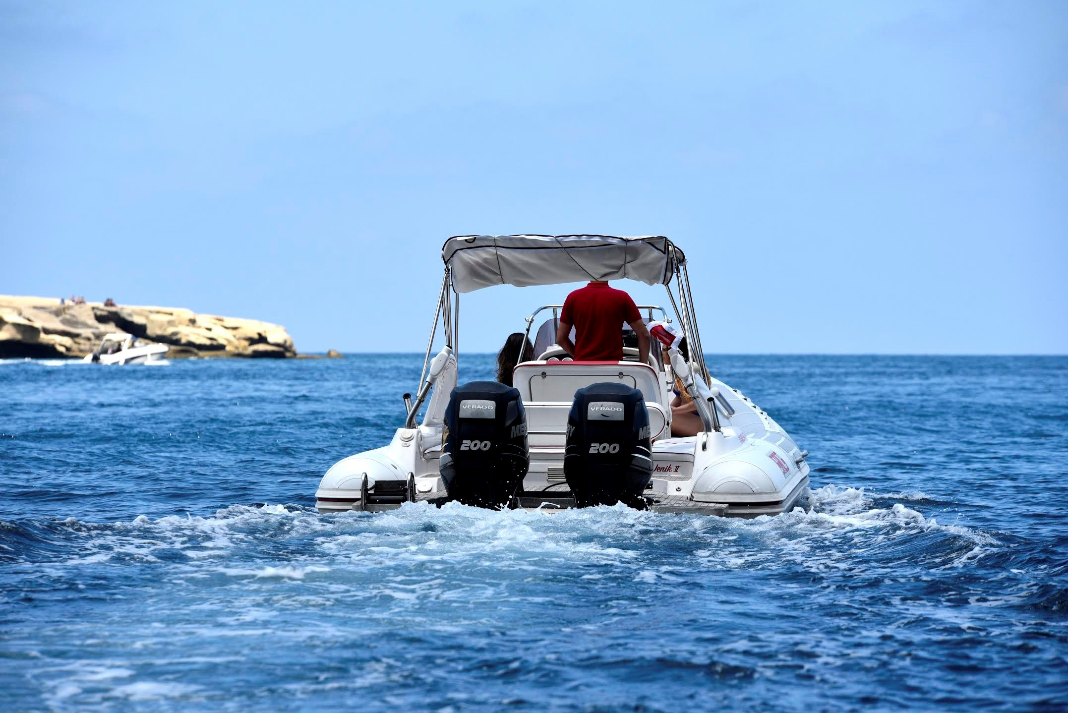 Rent / charter Rib / Dinghy for Boat Parties, Conference & Incentive / Meetings / Corporate, Full Day Tour, Half Day Tour, Harbour Cruise & Team Building Activities in Malta & Gozo - SACS 780